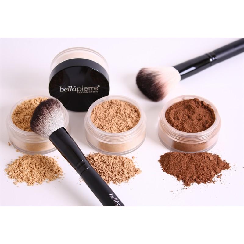 maquillaje en polvo mineral